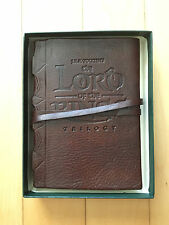 Official Lord of the Rings films notebook / journal, embossed leather, MIB