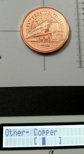 99.9% Copper rounds 1 oz 45 President