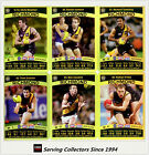 2010 AFL Teamcoach Trading Card Gold Parallel Team Set Richmond (11)