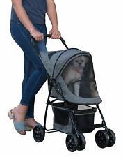 Pet Gear Happy Trails, cochecito para mascotas para gatos / perros, fácil de do