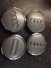 4x New Genuine Audi Wheel Centre Caps 4B0601170A