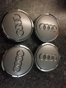 4x New Genuine Audi Wheel Centre Caps 4B0601170A