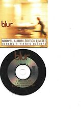 BLUR RARE FRENCH PROMO CDS IN CARD PS DANCEHALL +2
