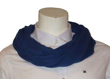 CODELLO 32108211 COL 02 MEN'S LOOP SCARF BLUE NEW