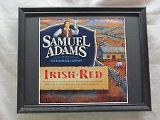 SAMUEL ADAMS IRISH RED  BEER SIGN  #1120