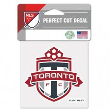 "TORONTO FC PERFECT CUT DECAL/STICKER 4'x4"" OFFICIALLY LICENSED SHIPS FROM CANADA"