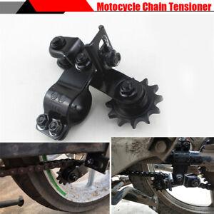 Black Steel Motorcycle Adjustable Chain Tensioner for Honda BMW Yamaha Kawasaki