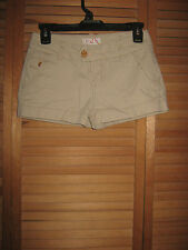 JUNIORS OP KHAKI SHORTS -BEIGE-COTTON BLEND- SIZE 3