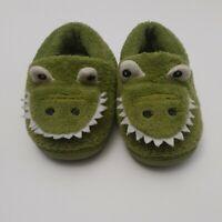 190 Girl & Boy Dinosaur Nonslip Slip On House Shoes Size 2