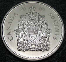 RCM - 2008 - 50-cents - Coat of Arms - Specimen - Uncirculated