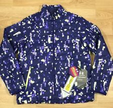 Under Armour Storm1 Coat Jacket YXL Infrared Purple With Polka Dots NEW!!