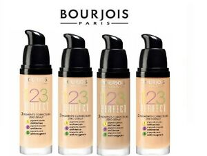 Bourjois 123 Perfect Foundation 3 Correcting Pigments Flawless Complexion - New