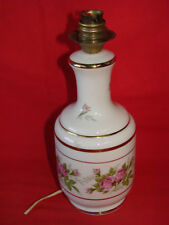 Antique Base Lamp Porcelain Royal de Lux - Decor Roses