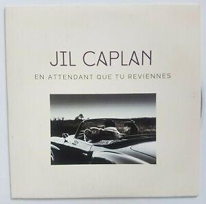 JIL CAPLAN : EN ATTENDANT QUE TU REVIENNES ♦ RARE CD PROMO (titre URBAIN)