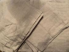 Restoration Hardware RH Stonewashed Belgian Linen Full Queen Duvet & Shams  DUNE