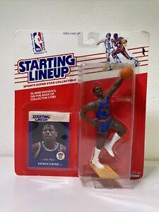 1988 Patrick Ewing Starting Lineup SLU Figure Knicks *Rookie MOC* 🏀🚨