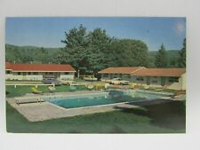 Postcard~Schroon Lake New York~The Huntley Motel~c1965~Unposted