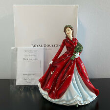 "Royal Doulton Deck The Halls Songs of Christmas Hn5606 Figurine 6.75"" Mib Coa"