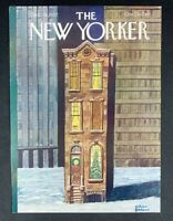 COVER ONLY ~ The New Yorker Magazine, December 19, 1977 ~ Charles Addams