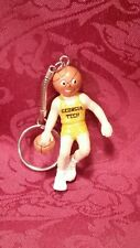1988 GEORGIA TECH Basketball Keychain Keychain Key Ring