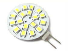 Lampadina LED G4 Bispina 10V-30V DC AC 3W 12V e 24V Bianco Caldo 3000K 18 SMD 28