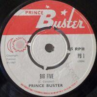 """PRINCE BUSTER ~ Big Five ~ 7"""" Single"""