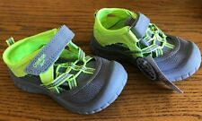 NEW size 10 Little Boys Sandals NWT easy on & off Osh...
