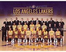 2015-2016 LOS ANGELES LA LAKERS BASKETBALL 8X10 TEAM PHOTO
