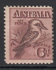 AUSTRALIA  1914  6d   KOOKABURRA   SG 19   MOUNTED MINT  CV £75