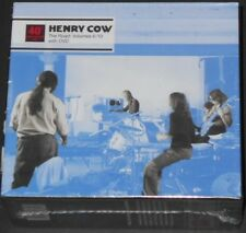 HENRY COW 40th anniversary the road volumes 6-10 with dvd UK 4-CD BOX new sealed