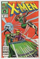 Uncanny X-Men #224 (Dec 1987, Marvel) Chris Claremont Marc Silvestri X