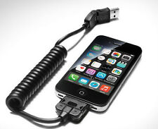 GENUINE AUDI APPLE IPHONE 30 PIN MOBILE PHONE BOX CRADLE CHARGE CABLE