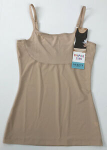 Assets Spanx Thintuition Shaping Cami Tank Size Large Stretch 10229R Beige F18