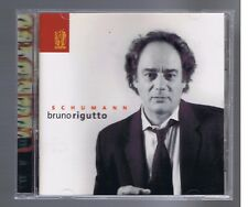 SCHUMANN CD BRUNO RIGUTTO VARIATIONS FANTAISIE ARABESQUE SCENE D'ENFANTS