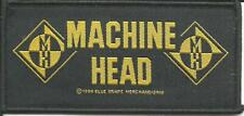 MACHINE HEAD logos - WOVEN SEW ON PATCH