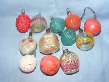 Vintage Christmas Glass Tree Decoration Ornament Baubles Antique Glass Delicate