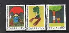 ITALY MNH 1976 SG1492-1494 STAMP DAY - NATURE PROTECTION