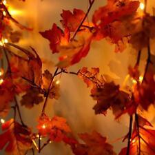 Autumn Leaves /  Maple Leaf Hanging Garland - Halloween / Christmas-180cm AU!!!