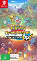 Pokemon Mystery Dungeon Rescue Team DX Nintendo Switch Brand New