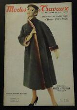 Magazine Modes & Travaux Novembre 1955 complet
