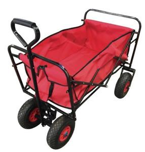 Transportkarre, faltbar, mit Lufträdern, Vatertagswagen