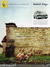 Publicité advertising 2002 Renault Twingo