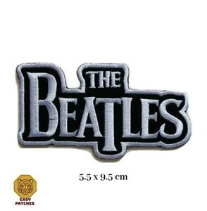 The Beatles Music Band Embroidered Iron On Sew On Patch Badge For Clothes