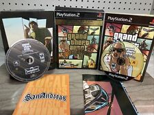 New listing Grand Theft Auto San Andreas Gta Special Edition Playstation 2 Ps2 Sunday Driver