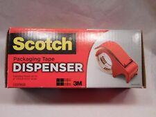 "3M Scotch Handheld 2"" Packaging Tape Dispenser - DP300RD Box Tape Dispenser"