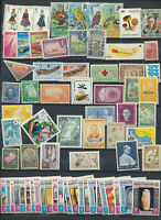 Worldwide Mini Mint Never Hinged Collection 72 Different Bargain Priced (LOT3142