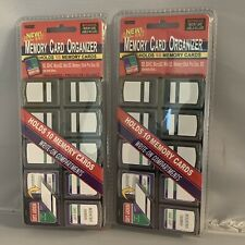 Pioneer Memory Card Organizer  023602634510 Lot Of Two