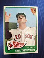 CARL YASTRZEMSI, HOF, Red Sox, '65 Topps Original Vintage