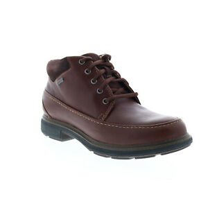 Clarks Un Tread On GTX 26145476 Mens Brown Leather Lace Up Ankle Boots