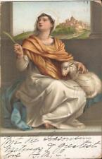 ART:  St. Agnes by Andrea del Sarto - 1906 - Pisa, ITALY